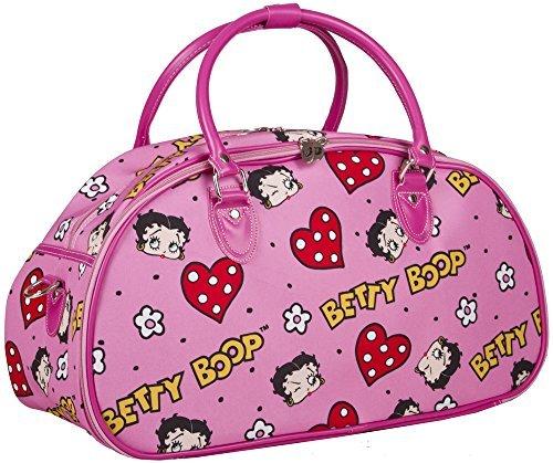 20'' Betty Boop canvas travel shoulder bag overnight heavy duty bowling duffel by Betty Boop