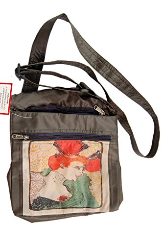 La presa del museo - ritratto per il seno da Toulouse-Lautrec fatti a mano borsa a tracolla