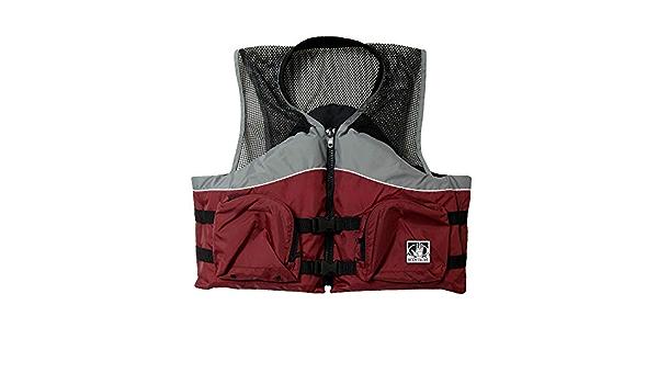 Large Body Glove Cove Nylon Mesh Fishing Vests Gry//RUS