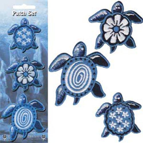 Application Blue Turtles Patch Set, 3-Piece