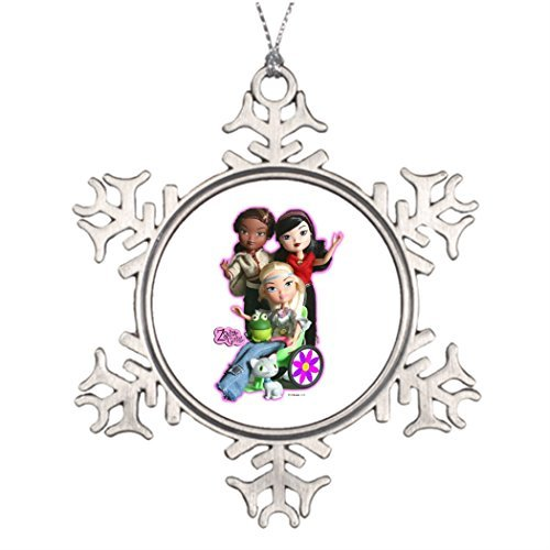 Christmas Snowflake Ornaments Zodiacgirlz Tree Branch Decoration Snowflake Christmas Decorations Astrology Fashion Design