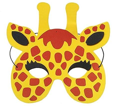 Mascara de jirafa