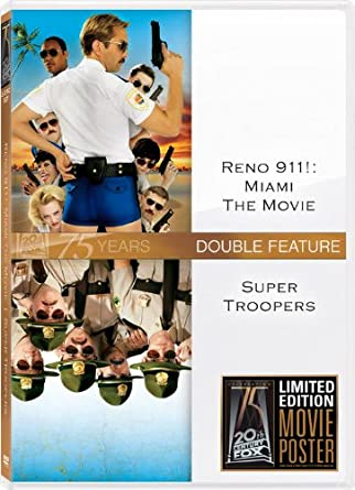 Amazon com: Reno 911: Miami: The Movie / Super Troopers: Reno 911