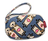 Bungalow 360 Canvas Clutch Coin Purse (Sea Otter)
