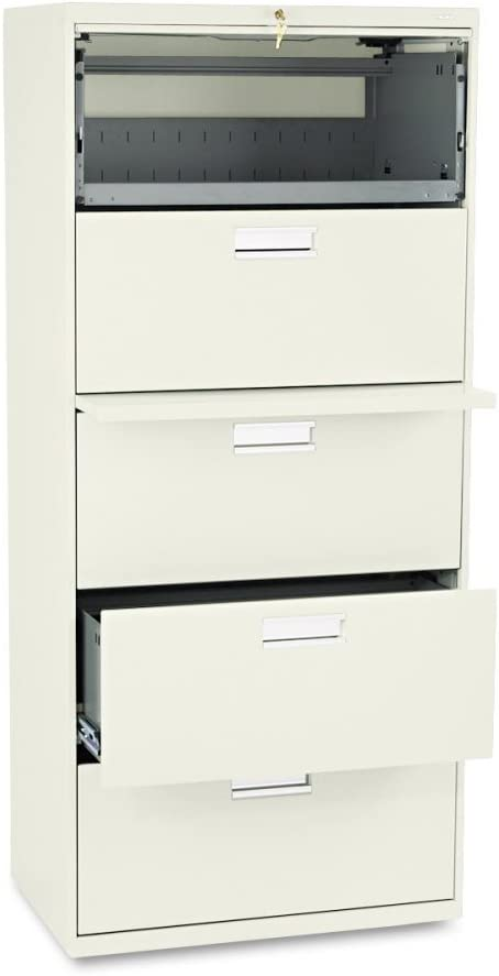 Amazon Com 600 Series 30 W Five Drawer Lateral File With Posting