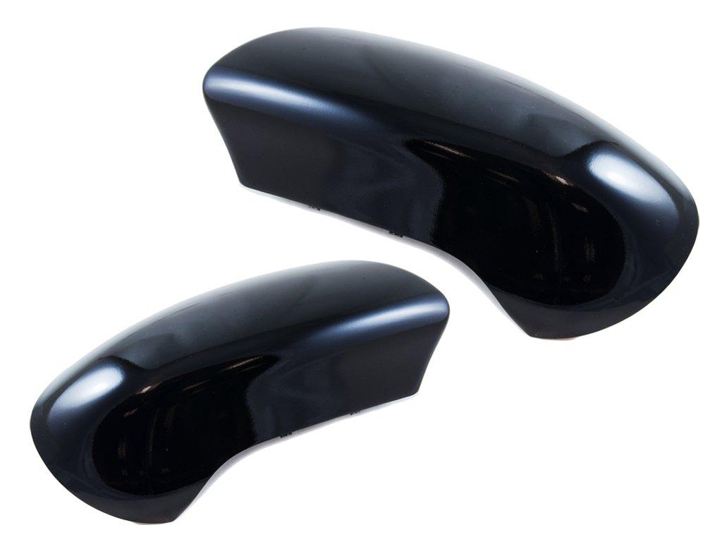 all4cars 275954pm/275955pm puerta espejo retrovisor cubierta carcasa Cap Negro Par o/s & N/S