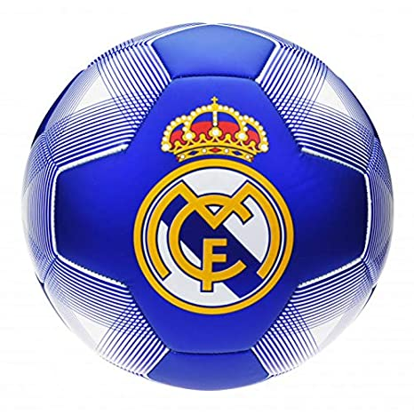 ROGERS Balon Real Madrid Azul Grande: Amazon.es: Deportes y aire libre