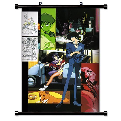 Anime Wall Scrolls - ActRaise Cowboy Bebop Anime Fabric Wall Scroll Poster (16