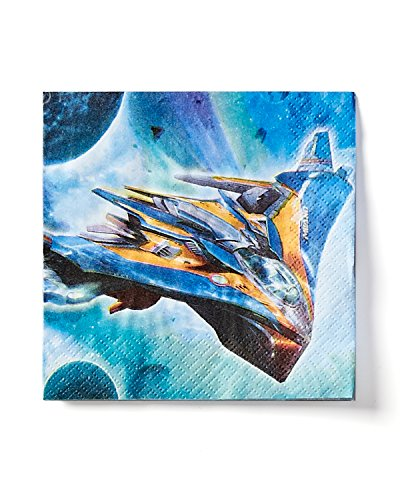 American Greetings Guardians of the Galaxy Beverage Napkins, 16 Count, Party Supplies Novelty (Guardians Of The Galaxy Decorations)