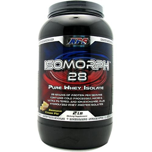APS Nutrition IsoMorph 28 - Banana Cream Pie - 2 lbs (Aps Whey)