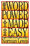 word power made easy norman - Word Power Made Easy by Lewis, Norman (August 1, 1996) Hardcover