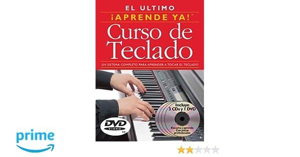 Curso de Teclado: 3 Books/3 CDs/1 DVD Boxed Set (0752187986133): Ed Lozano, Inti Alejandra Viana: Books