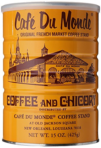Cafe Du Monde Coffee Chicory, 15 Ounce Ground - New Orleans French Coffee