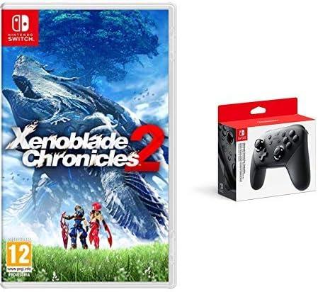 Xenoblade Chronicles 2 & Nintendo Switch - Mando Pro Controller, Con Cable USB: Amazon.es: Videojuegos