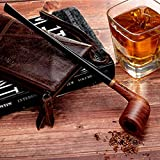Best Churchwarden Pipes - Tobacco Smoking Pipe Set, Handmade Pear Wood Churchwarden Review