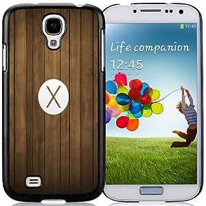 Lovely Phone Case OSX Mavericks Logo Wood Pattern Galaxy S4 Wallpaper