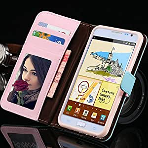 ModernGut 1PCS Crown Leather Case for Samsung Galaxy S3 i9300 Pouch Phone Cover For S3 With Photo Holster Card Slot RCD02006