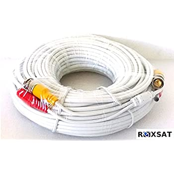 Amazon Com 100 Foot Security Camera Cable For Samsung