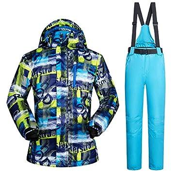 XMDNYE Trajes De Esquí para Hombre Conjuntos Y Pantalones De ...