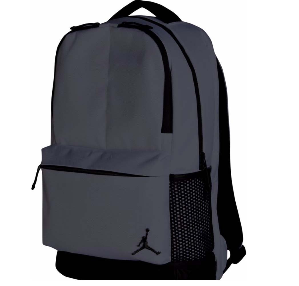 3a0a5d2d9b5e Amazon.com  Nike Air Jordan Off-Court Backpack (Dark Grey)  Sports    Outdoors