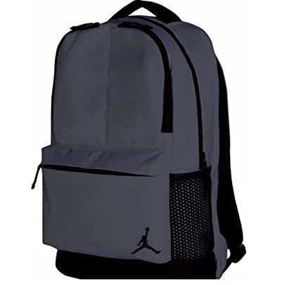 327b071c4bfc22 Amazon.com  Nike Air Jordan Off-Court Backpack (Dark Grey)  Sports    Outdoors