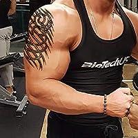 AWLEETatuaje temporal para hombres - tatuaje temporal extra falso ...