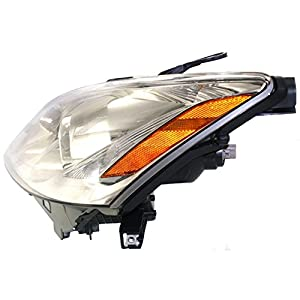 Evan-Fischer EVA13572043084 Headlight Composite Clear Lens Halogen Driver Side