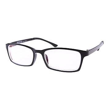 5a8d25d51e57 Amazon.com  1 PR Black Frame Shortsighted Myopia Glasses -1.00 ...