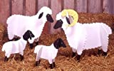 A Woodworking Pattern and Instructions Pkg to Build Your Own Sheep for the Meadow