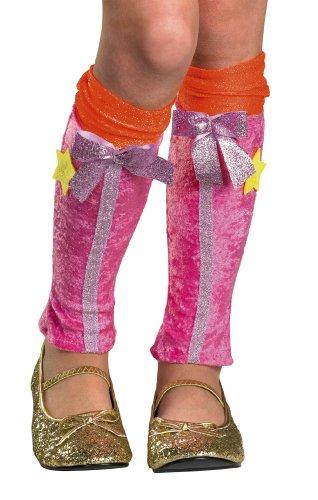Winx Club Stella Leg Covers, Pink/Orange, One -