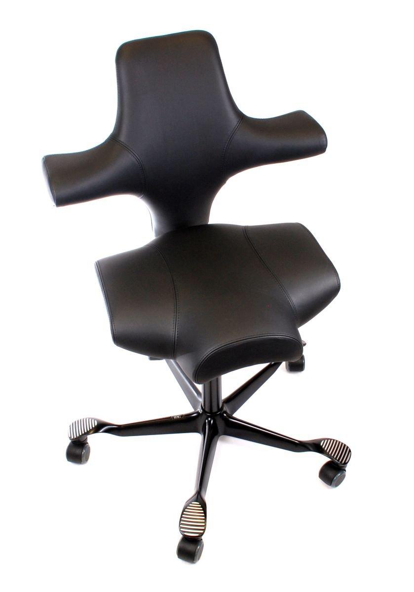 Hag Capisco Modell 8106 In Leder Schwarz Bürostuhl Günstig Bestellen