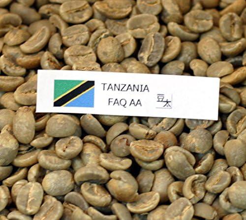 焙煎工房~豆太 コーヒー生豆 キリマンジャロ タンザニアAA(1kg×2袋)輸出規格AA