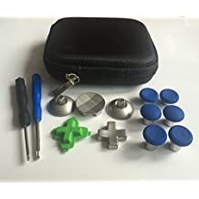 Blue Xbox One Elite Wireless Controllers Replacement Part (11 pcs) Swap thumbsticks and D-pads for Xbox one Controller by E-MODS GAMING