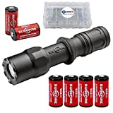 SureFire G2Z MV 800 LumenCombat Light with Single Output LED MaxVision Beam with 4 Extra CR123A Batteries and Lightjunction Battery Box