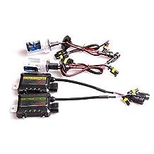 35W 12V HID Vehicle Headlight Conversion KIT Bulbs H1 H3 H4 H7 H10 H11 9005 9006 880/881 (4300K, H4-2 Halogen Low&HID)