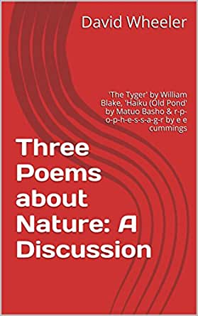 Amazoncom Three Poems About Nature A Discussion The