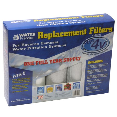 Watts Premier 500124 WP-4V Compatible Replacement Filter Pack for Reverse Osmosis System CFS COMPLETE FILTRATION SERVICES EST.2006