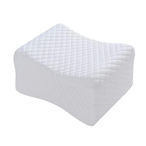 Amazon Com Rainmr Knee Pillow Sciatica Relief Leg Pillow Memory