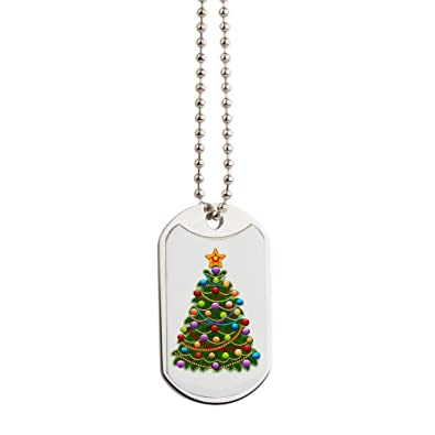 Royal Lion Dog Tags Elegant Christmas Tree And Ornaments Amazon Com