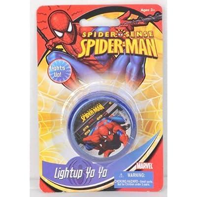 Spiderman Light Up Yo-Yo: Toys & Games