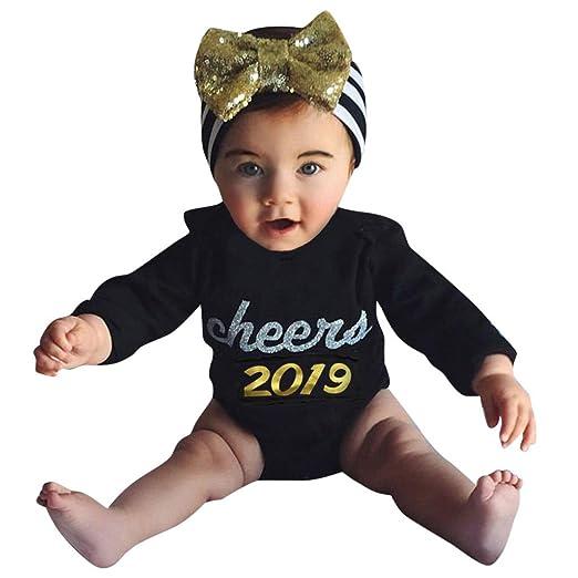 b0999511b41b Amazon.com  XEDUO 2019 Newborn Baby Girl Boy Letter Romper Bodysuit ...