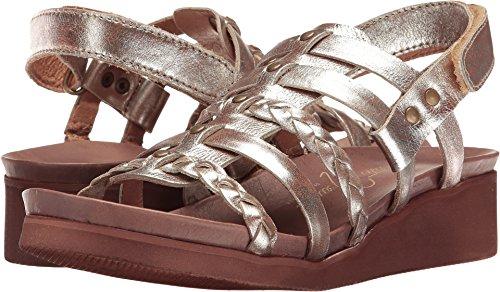 Sesto Meucci Women's Mehala Choco Koa Metallic Sandal