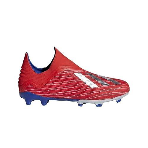 Adidas Active X Metallic 18 Red Silver Fg Niño Fútbol De Bota AngATqrFw