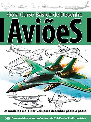 Amazon Com Guia Curso Basico De Desenho Avioes Ed 01