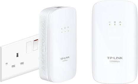 Tp Link 1200 Mbps Gigabit Powerline Starter Kit Ideal Computer Zubehör