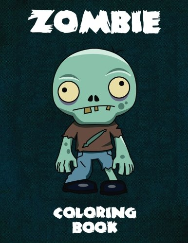 ZOMBIE Coloring Book: Activity Book for Kids and Adults - 40 illustrations