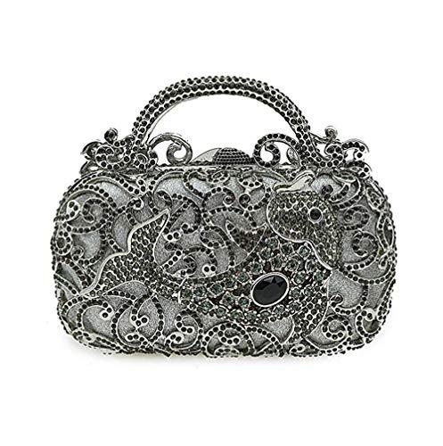 Da A Luxury Della 18 Dimensione 5cm Sera Borsa colore Diamond 10 Mindruer Frizione Donna C zwBYtqxS