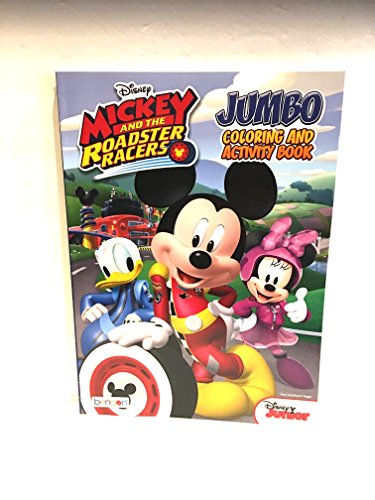 Disney Mickey and the Roadster Racers Jumbo Coloring And Activity Book