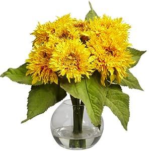 Silk Sunflowers Flowers