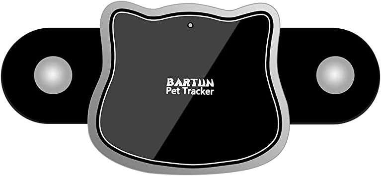 BARTUN GPS Pet Tracker Cat Dog Tracking Device with Unlimited Range